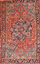 ANTIQUE SERAPI RUG, CIRCA 1910