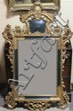 VENETIAN CARVED AND GILT PAINTED MIRROR