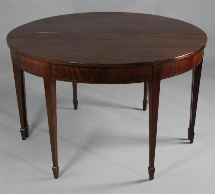 FEDERAL STYLE INLAID MAHOGANY DINING TABLE : H1122 L122922303 from www.invaluable.com size 750 x 679 jpeg 34kB
