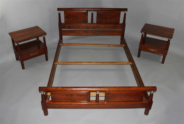 Willett furniture company quottrans eastquot cherry double bed tog for American home furniture beds