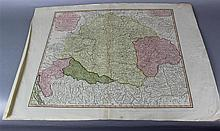 GROUP OF FOUR MAPS OF EASTERN EUROPE AND TURKEY