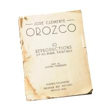 JOSE CLEMENTE OROZCO: TEN REPRODUCTIONS OF HIS MURAL PAINTINGS