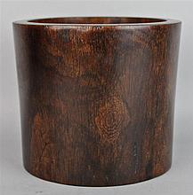 CHINESE HUANGHUALI BITONG (BRUSH POT)