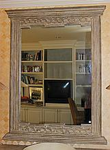 FAUX STONE WALL MIRROR