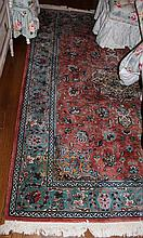 INDO PERSIAN FLORAL WOOL RUG