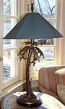 TWO CARIBBEAN STYLE FREDERICK COOPER LAMPS