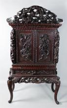 JAPANESE DISPLAY CABINET, LATE MEIJI PERIOD (20TH CENTURY)