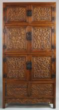 CHINESE TALL SIX-PANEL CABINET