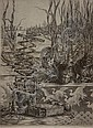MARK ALAN LEITHAUSER (AMERICAN, 1950-) PAPERWHITES Etching: 8 1/2 X 6 1/2 in., Mark Alan Leithauser, Click for value