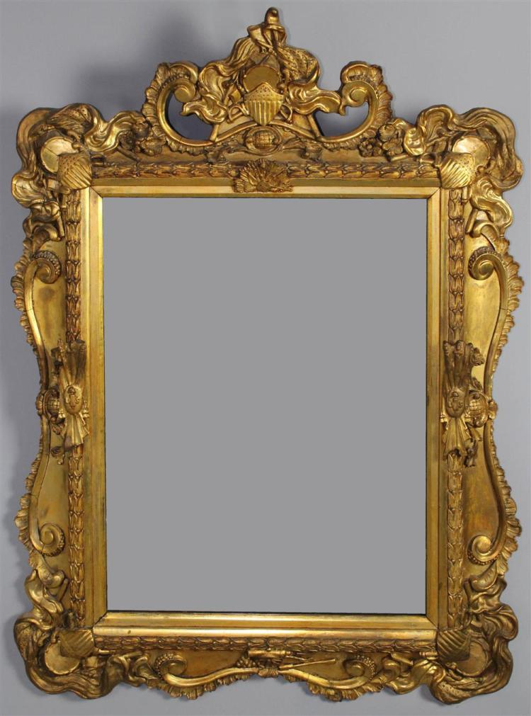 Neoclassical style carved giltwood mirror frame for Mirror frame styles