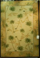 MM SYNTHETIC PALM DESIGN RUG