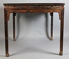 CHINESE MING STYLE SQUARE WINE TABLE