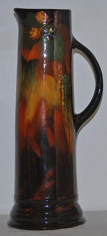 Weller Pottery Aurelian Tall Ewer (Levi J Burgess)