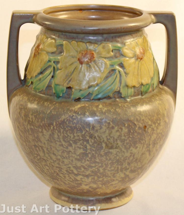 Roseville Pottery Dahlrose Trial Glaze Vase 367-8