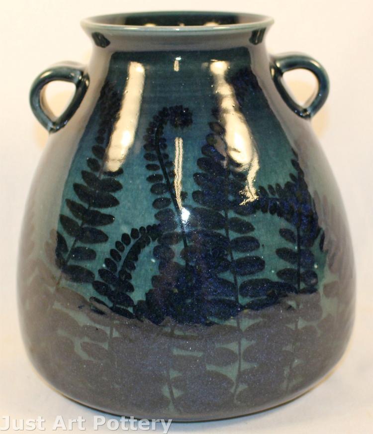 Tim Eberhardt Pottery Fern Vase