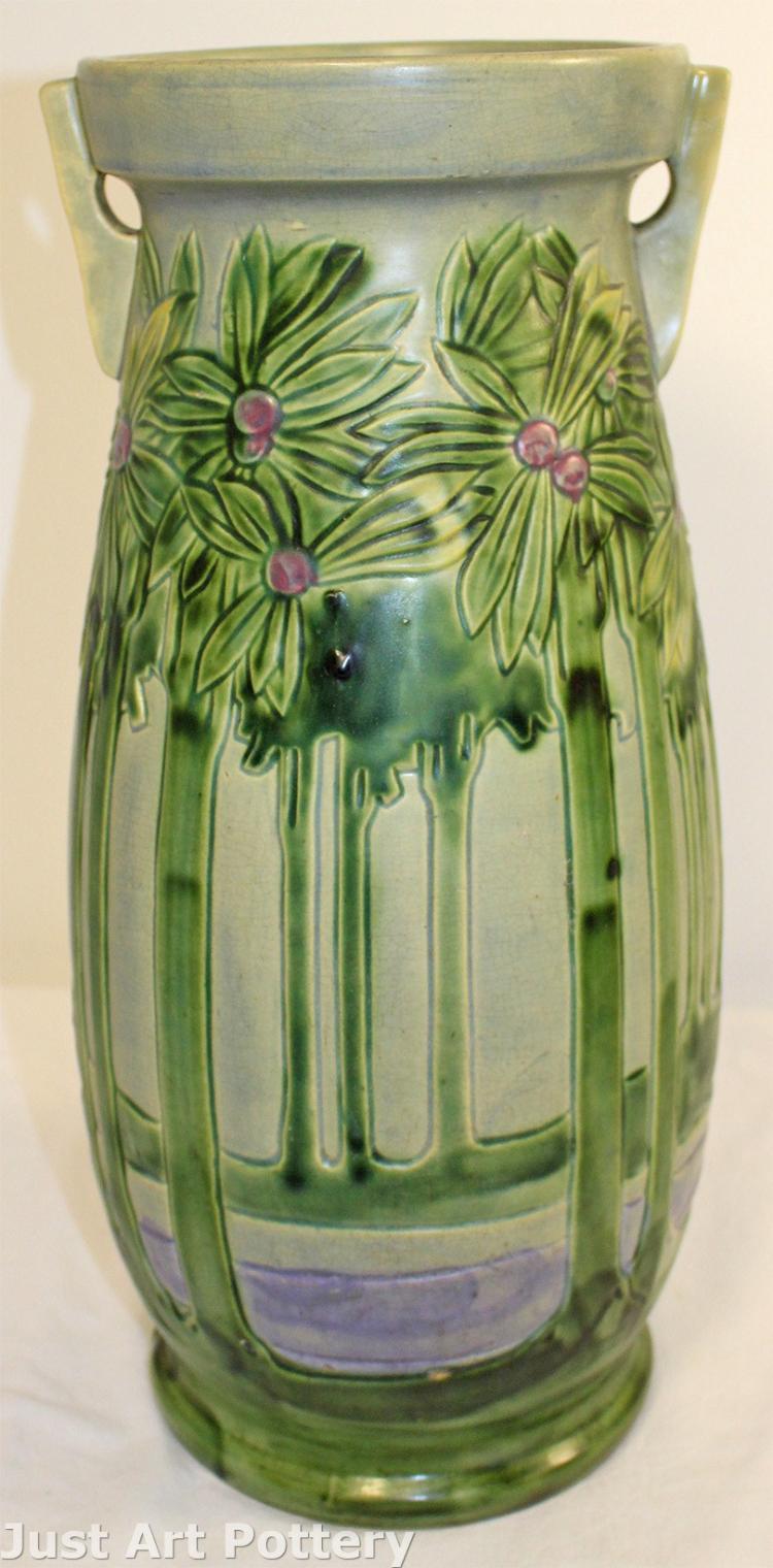 Roseville Pottery Vista Floor Vase 134-18