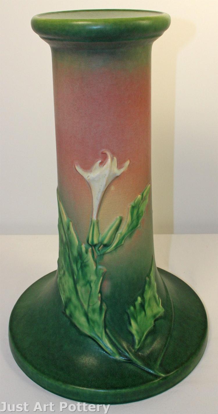 Roseville Pottery Thornapple Pink Pedestal