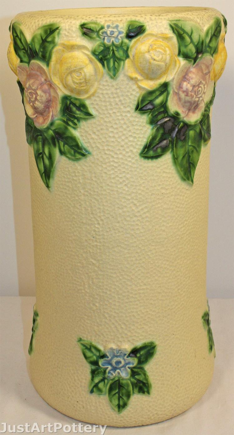 Roseville Pottery Rozane 1917 Umbrella Stand 756-19