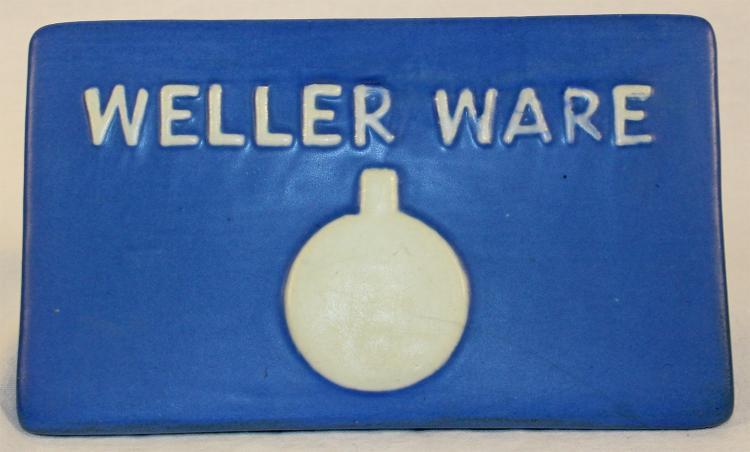 Weller Ware Pottery Dealer Sign