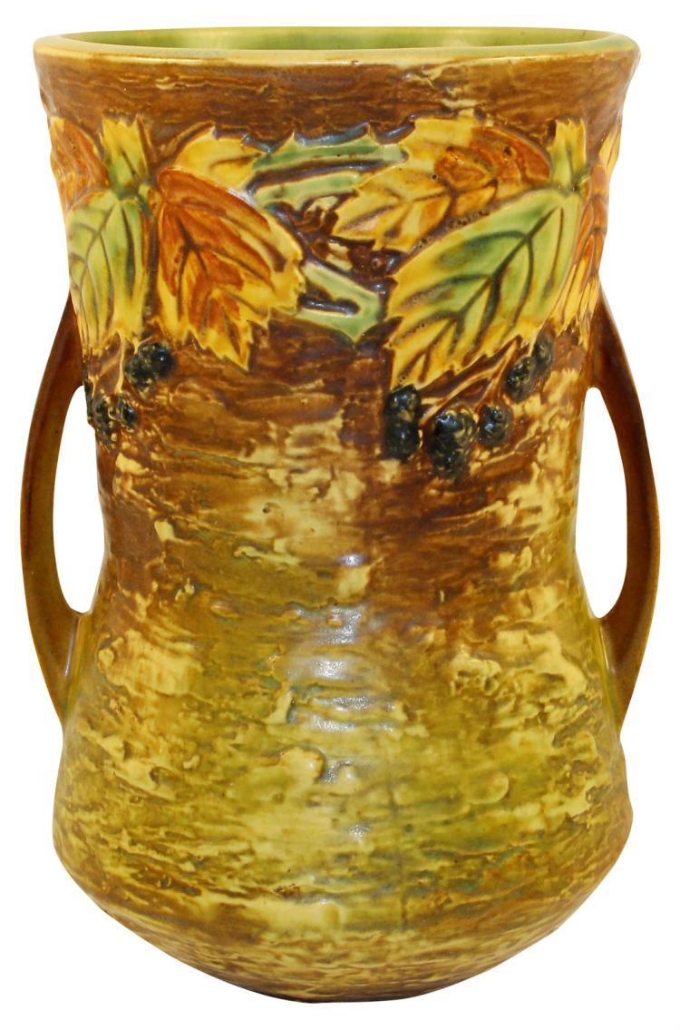 Roseville Pottery Blackberry Vase 577-10