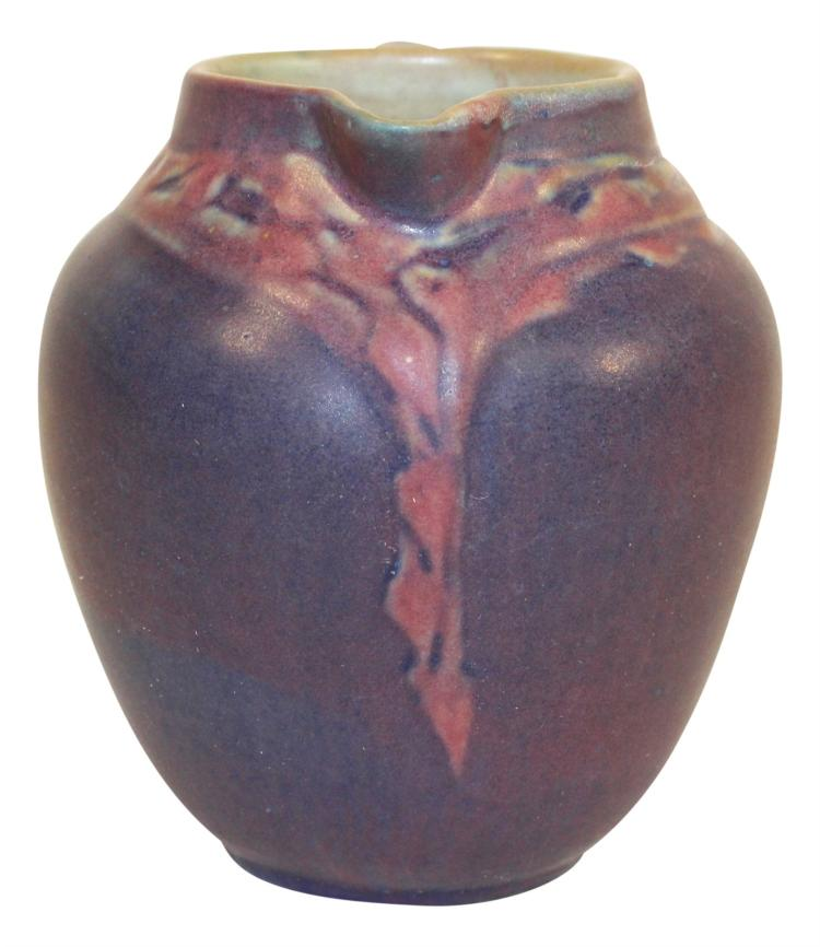 Newcomb College Pottery 1928 Floral Creamer (Irvine)