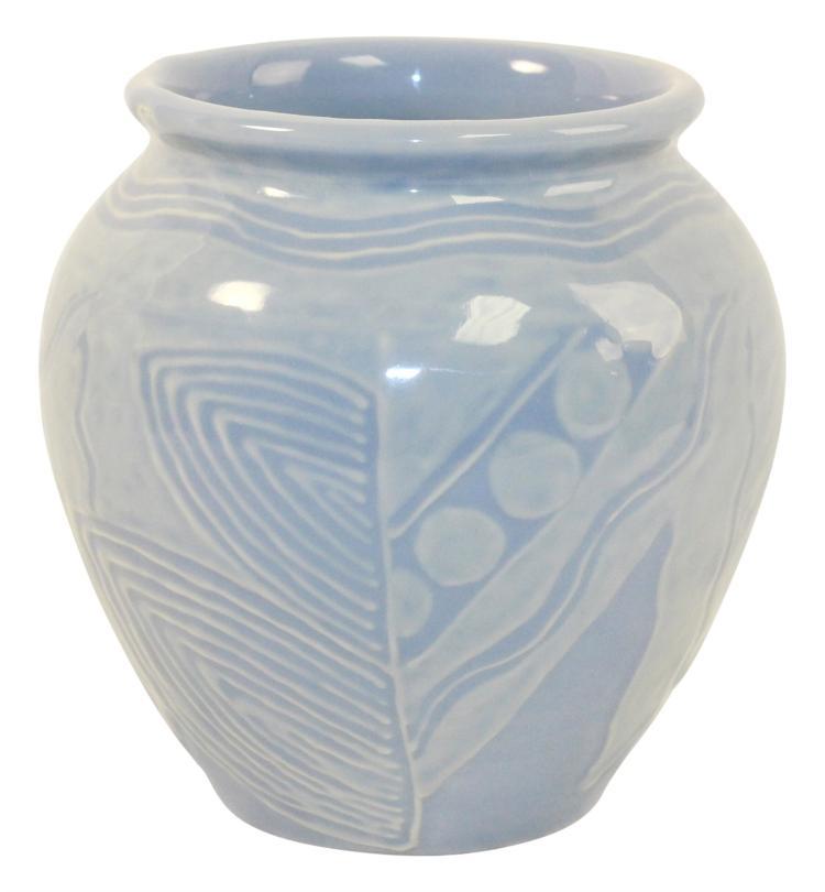 Rookwood Pottery 1930 Matte Moderne High Glaze Vase 130 (Rehm)