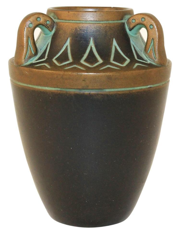 Norse Pottery Three Handled Vase 119