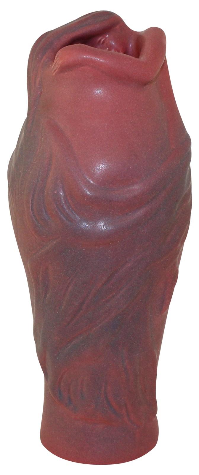 Van Briggle Pottery 1980s Lorelei Mulberry Vase