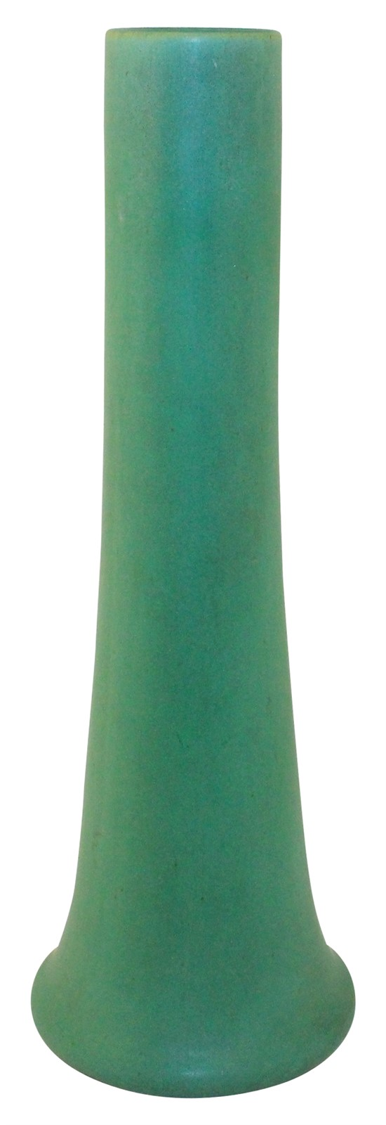 Teco Pottery Matte Green Vase (Shape 123)