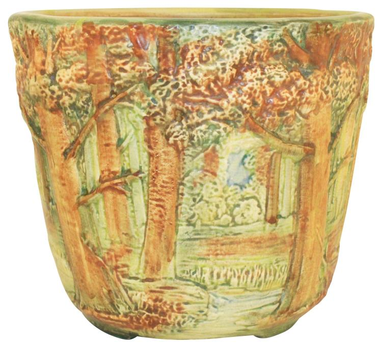 Weller Pottery Forest Jardiniere