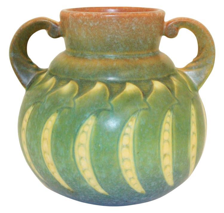 Roseville Pottery Falline Blue Vase 644-6