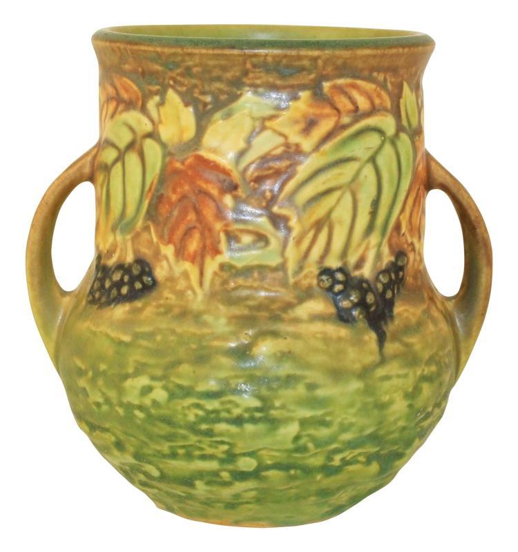 Roseville Pottery Blackberry Vase 570-5