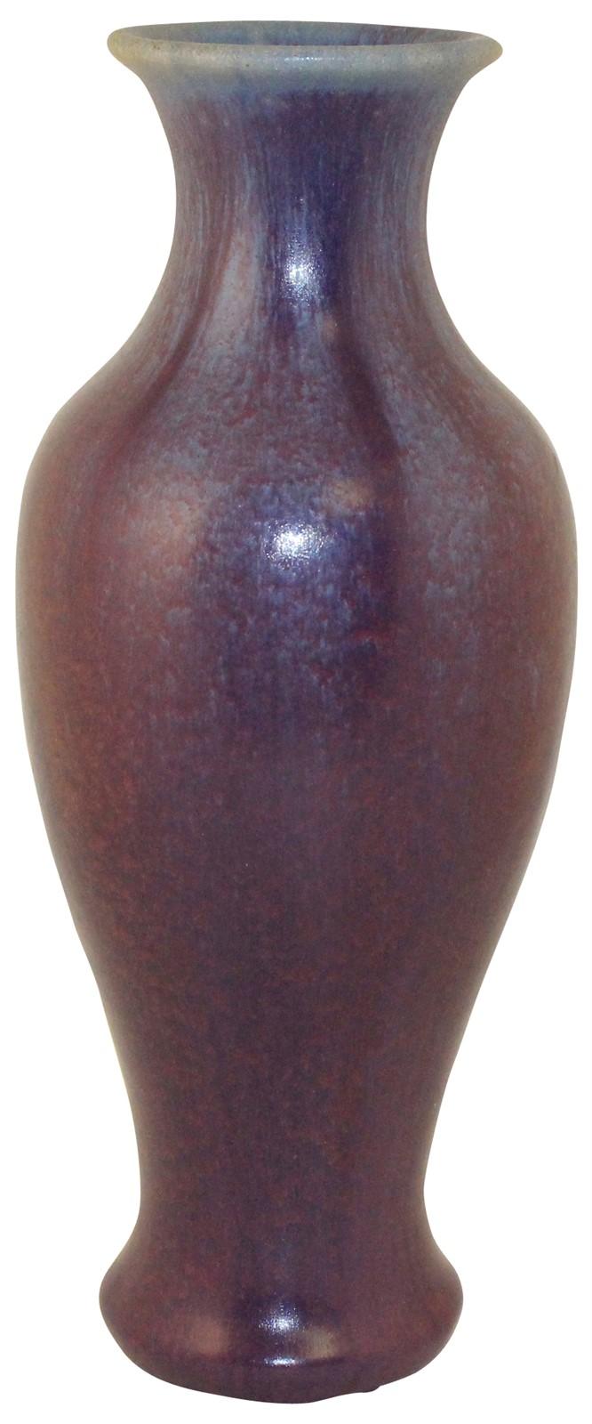 Fulper Pottery Wisteria Glazed Vase Shape 647