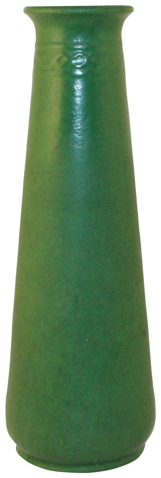 Roseville Pottery Egypto Matte Green Vase E41-12