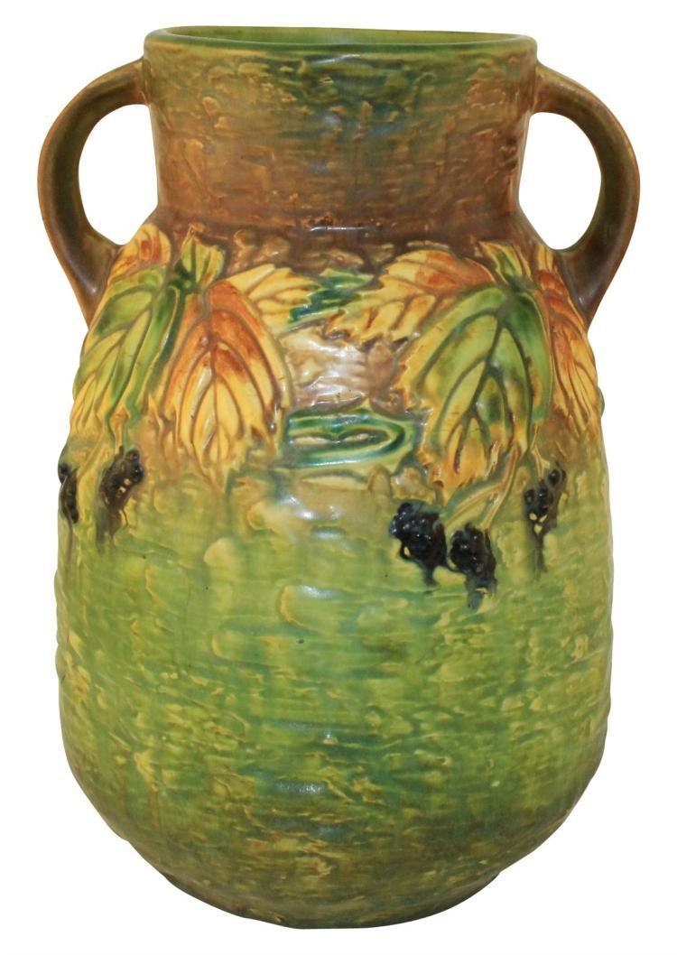 Roseville Pottery Blackberry Vase 578-12