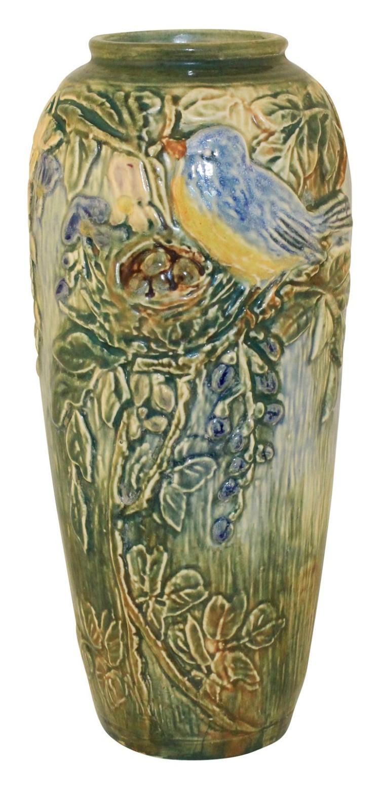 Weller Pottery Glendale Glossy Vase (McLaughlin)