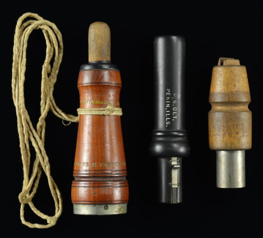 3 ILLINOIS CALLS BY PERDEW, ALLEN & OLT.