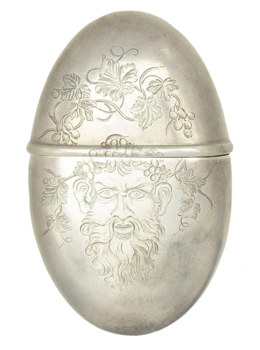 IMPORTANT & HISTORICAL STERLING SILVER FLASK