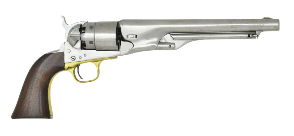 COLT 1860 ARMY US MARKED REVOLVER.
