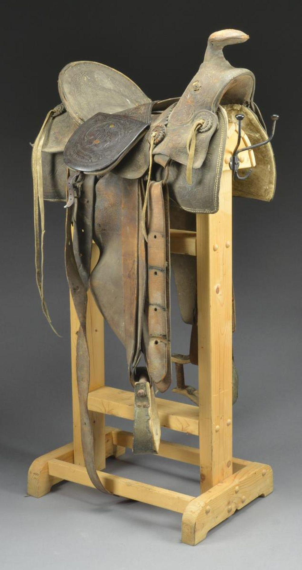 SCARCE & DESIRABLE SADDLE BY FAMOUS MAKER FRANK