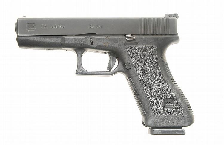 Glock Model 22 Pistol.