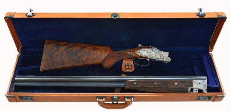 SPECTACULAR ANGELO BEE ENGRAVED BROWNING