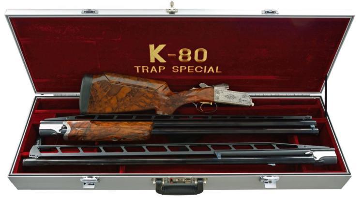 KRIEGHOFF K-80 TRAP SPECIAL O/U SHOTGUN SET.