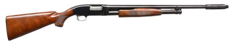 WINCHESTER MODEL 12 SKEET GRADE PUMP SHOTGUN.