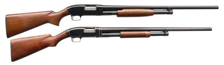 2 WINCHESTER MODEL 12 FIELD GRADE SHOTGUNS.