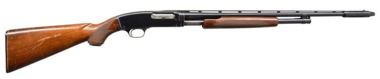 WINCHESTER 42 SKEET GRADE PUMP SHOTGUN.