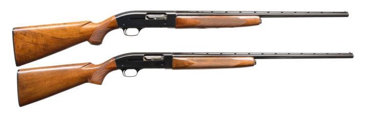 2 WINCHESTER MODEL 50 AUTO SHOTGUNS.