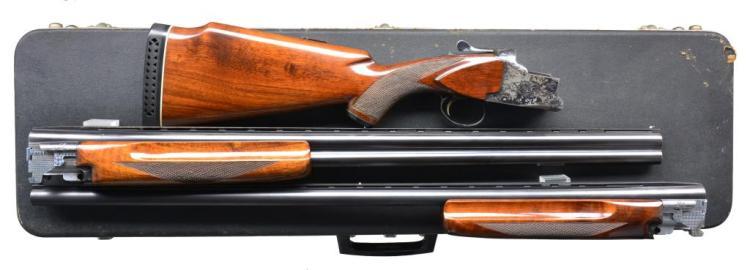 WINCHESTER MODEL 101 2 BBL. SHOTGUN SET.