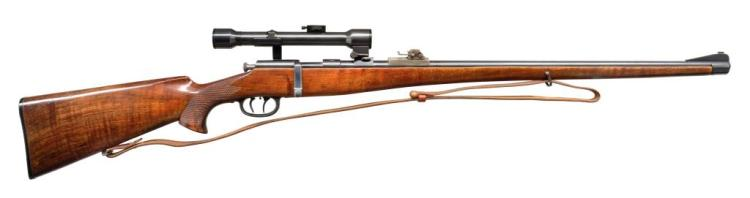 A.G. ZELLA MEHLIS BOLT ACTION STALKING RIFLE.