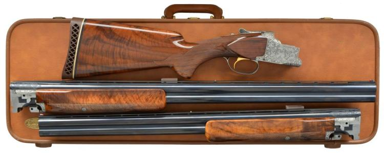 BROWNING DIANA STYLE SUPERPOSED O/U SHOTGUN.